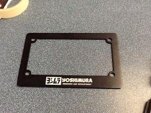 Yoshimura License Plate Holder