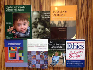 Autism and Behavioural Science Textbooks