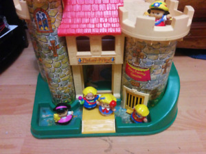 Vintage Fisher Price Play Castle $25
