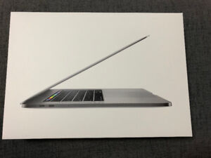 New 2017 and 2016 Space Gray MacBook Pro 15 Falgship Model