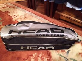 Head grey single strap tennis bag