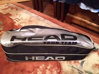 Head grey single strap tennis bag