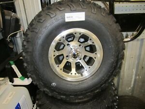 "PRO-FIT 22"" OCTO WHEEL PACKAGE  (GOLF CART)"