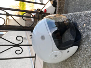 Scooter Helmet White size medium
