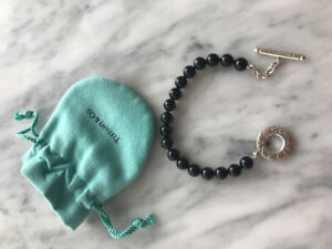 Tiffany Onyx Bracelet comes with dust bag