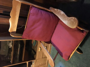 older rocking chair in good condition