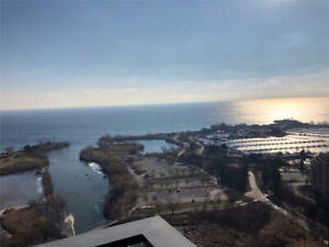 Luxury Condo At Etobicoke Waterfront. Great Floor Layout With 2