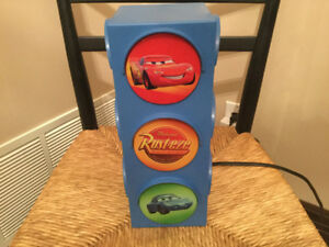 Disney Pixar Cars Traffic Light  Night Light Lightning McQueen