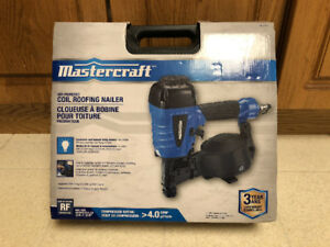 Mastercraft Coil Roofing Nailer *NEVER USED*