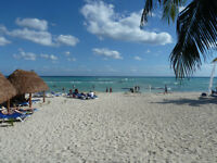Hurry for March break    beach at Playa del Carmen