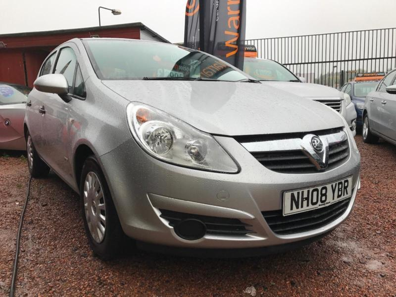 *12 MTHS WARRANTY*2008(08)VAUXHALL CORSA 1.2 3DR LIFE WITH ONLY 42K FSH*