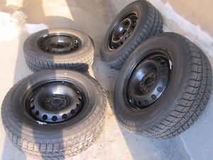 4 Winter tires: 235/65R16 Bridgestone Blizzak WS 80 103T Kitchener / Waterloo Kitchener Area image 4