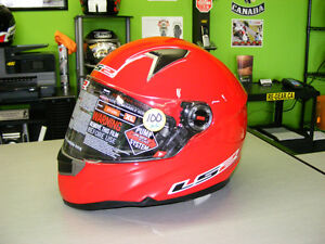 LS2 - Full Face Helmets - Red - NEW - All Sizes at RE-GEAR Kingston Kingston Area image 1