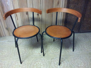 Two - Accessory Chairs