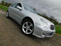 2006 Mercedes-Benz C CLASS C180 Kompressor 1.8 AUTO Avantgarde SE SALOON