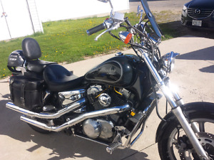 1987 Honda VT1100 Shadow  ......Great Reliable Bike