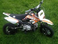 Slam mxr70cc race pit bike