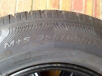Brand New 255/65R17 Tyre on rim