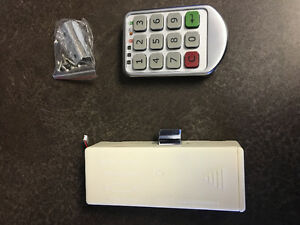 Electronic keypad for a door. Can be used for door, safe,cabinet