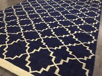 New Hand-woven rug (RRP £179) £85 Bargain!!