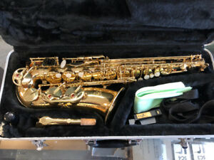 KSW Mega Blowout! Used J.Michael AL-500 Alto Sax! On for $350.00