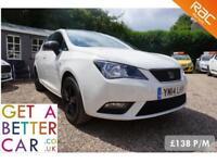 SEAT IBIZA 1.4 TOCA - 14 REG - 54,000 - £138 PM - NO DEPOSIT CAR FINANCE