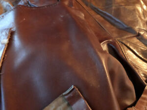 Reclaimed Real Leather from Sofa