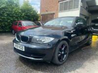 BMW 118D Coupe Black 2010 *HPI CLEAR*S.H*JUST SERVICED*12 MONTHS MOT*