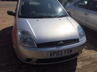 Ford Fiesta 1.4 Zetec very low mileage fsh