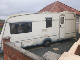 Caravan 4 berth for sale project