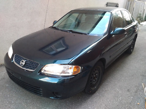 2003 Nissan Sentra GXE AS-IS