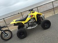Road legal suzuki ltz quad sport 400cc quad bike (not raptor,ltr, yfz, blaster)