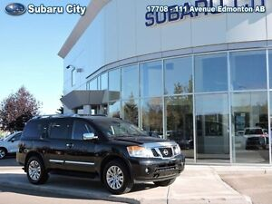 2015 Nissan Armada Platinum   DVD and Navigation