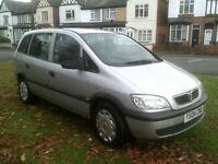 Vauxhall/Opel Zafira 1.8i 16v 2004 Life