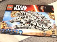 Brand new SEALED - Boxed - LEGO Star Wars Millennium Falcon was £129.99 NOW £90