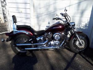 yamaha v star custom 1100