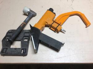 Bostitch flooring stapler