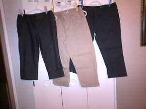 $7 each for the low cut jeans and $2 each for the capris Cambridge Kitchener Area image 1