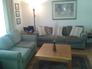 Bauhaus Sofa and love seat . $ 75 !!!. OBO must sell !!