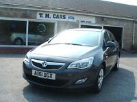 2012 Vauxhall/Opel Astra 1.3CDTi ecoFLEX Estate 5d **58k / NEW MOT**