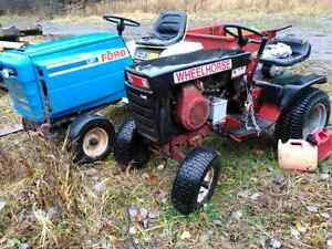 2 tractors for sale ford LGT and wheel horse
