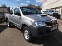 15/65 Toyota Hi-Lux 2.5D-4D 4WD Active Single Cab Only 14,000 Miles F.S.H