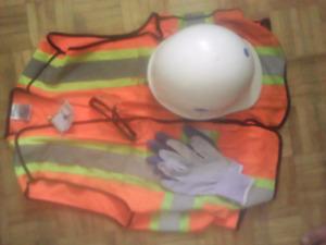 Boyfriend gone now his safety gear $25