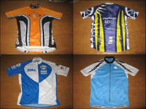 4 Cycling Jerseys M & L All for $50!