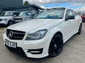 image for 2012 Mercedes-Benz C180 1.8 Auto AMG Sport Coupe **Pan Roof - Leather - Coupe**