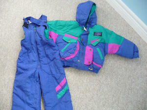 Brand New Multi-Coloured Snowsuit - Size 4 Kitchener / Waterloo Kitchener Area image 1