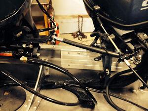 Trolling Motor Tie Bar Kit - Complete (hydraulic steering) Peterborough Peterborough Area image 2
