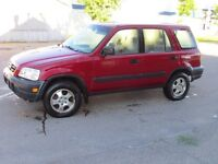 COMPLETE PLATEABLE HONDA CRV SOLD FOR PARTS OR FIX