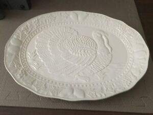 For Sale: Large White Turkey Platter