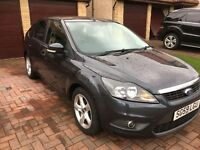 Ford Focus 1.6 Zetec 5dr 2009 (59reg) Grey 60k 1 previous owner good SH (7 stamps)